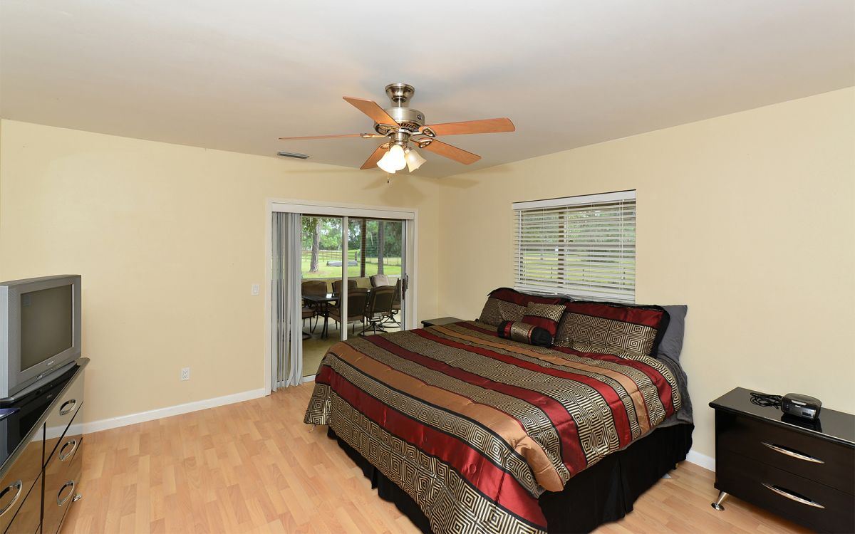 Master Bedroom with King Bed 1st Floor