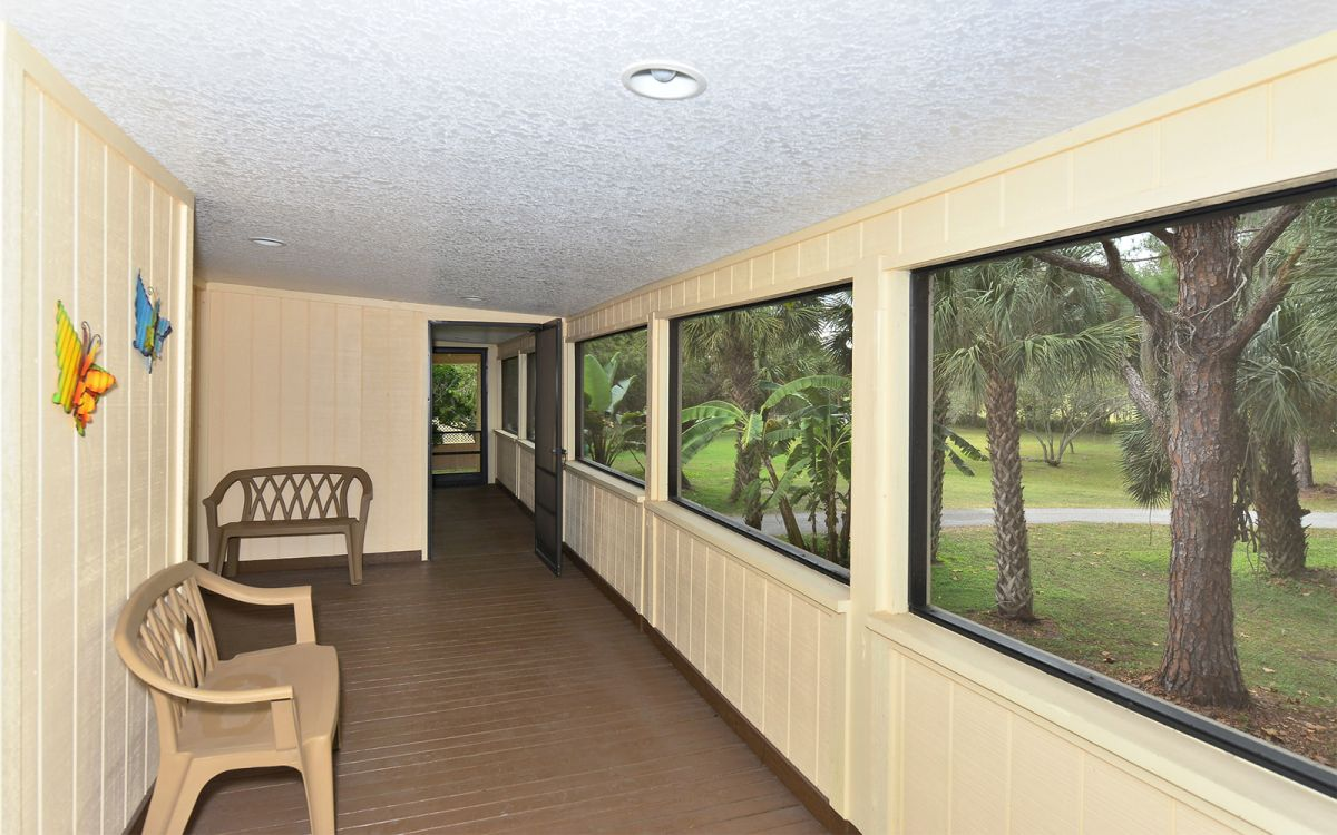 Wrap Around Screened-In Porch